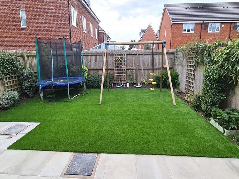 Artificial Lawn in Swinton